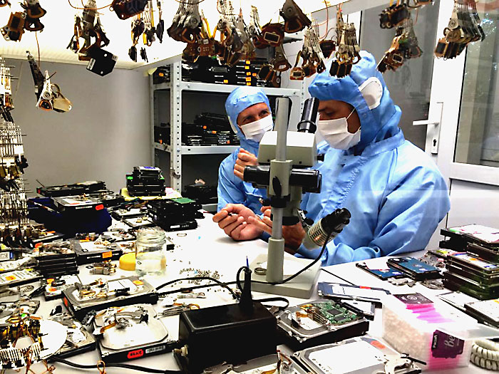 clean room data recovery learning
