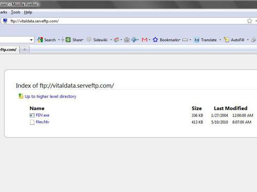ftp instruction to verify files 2